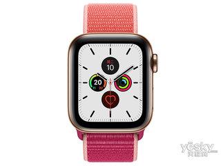 苹果Watch Series 5(GPS+蜂窝网络/不锈钢表壳/回环式运动表带/44mm)