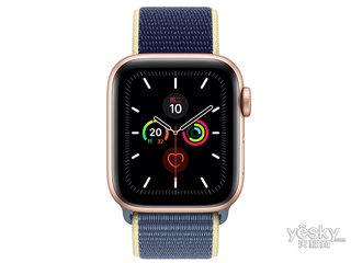 苹果Watch Series 5(GPS+蜂窝网络/铝金属表壳/回环式运动表带/44mm)