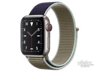 苹果Watch Edition Series 5(GPS+蜂窝网络/钛金属表壳/回环式运动表带/40mm)