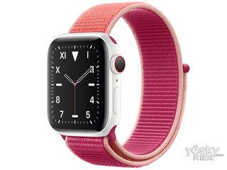 苹果Watch Edition Series 5(GPS+蜂窝网络/精密陶瓷表壳/回环式运动表带/44mm)