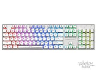 雷神白幽灵K75C 电竞机械键盘