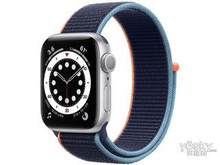 苹果Watch Series 6(40mm/银色铝金属表壳/回环式运动表带/GPS+蜂窝网络)