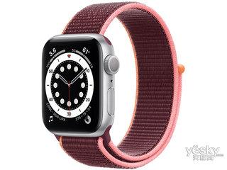 苹果Watch Series 6(44mm/银色铝金属表壳/回环式运动表带/GPS)