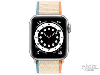 苹果Watch Series 6(44mm/银色铝金属表壳/回环式运动表带/GPS+蜂窝网络)