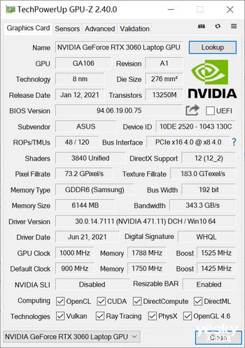 ROG幻16体验:70W性能释放的酷睿i7-11800H好强!