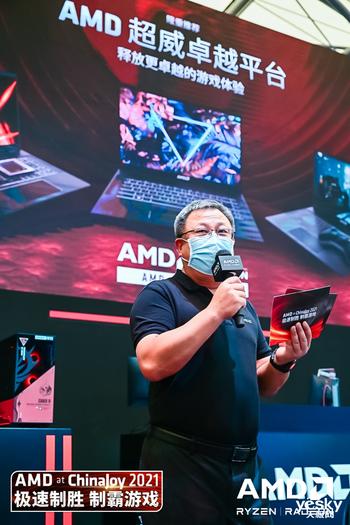 专为更佳游戏体验设计 AMD携手合作伙伴在ChinaJoy展示多款AMD Advantage游戏本
