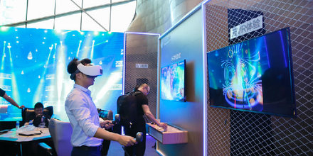 HTC首款端到端5G云VR解决方案发布