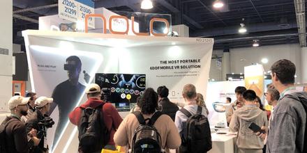 NOLO VR携6DoF云VR解决方案亮相CES
