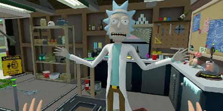 一款能变身动漫角色的VR游戏