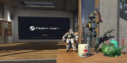 Steam VR Home更新:DIY游戏小屋
