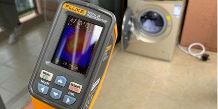 50℃低温柔烘40min极速洗烘 TCL免污式洗衣机测评