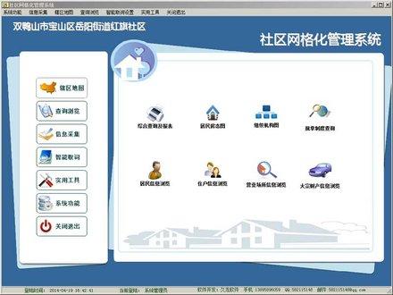 社区网格化管理系统