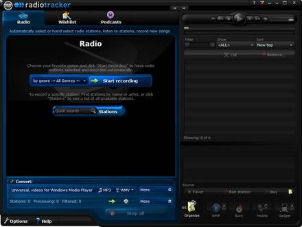 Audials Radiotracker