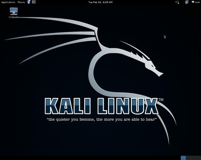 Kali Linux 64λ
