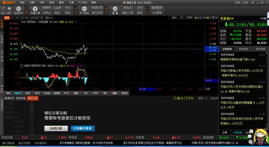 银天下上海石油交易所行情分析软件