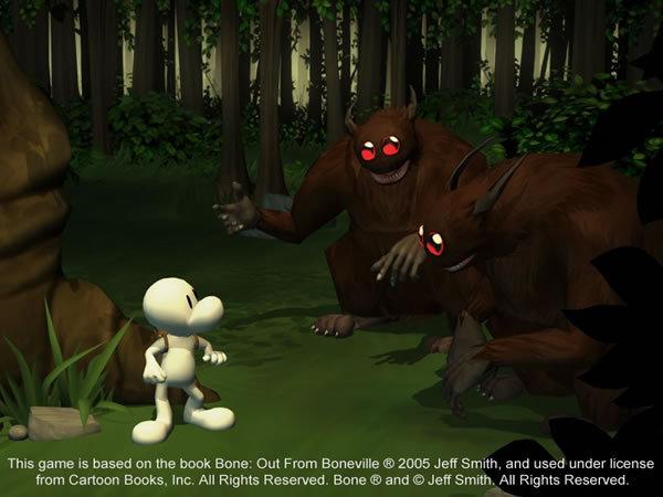 谐趣卡通冒险游戏《骨头》详尽图文前瞻