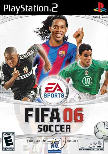 实况足球2006_不玩实况足球!ps2版《fifa 2006》前瞻