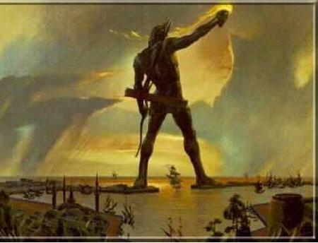 罗德港巨人雕像,建造时间:公元前4世纪晚期