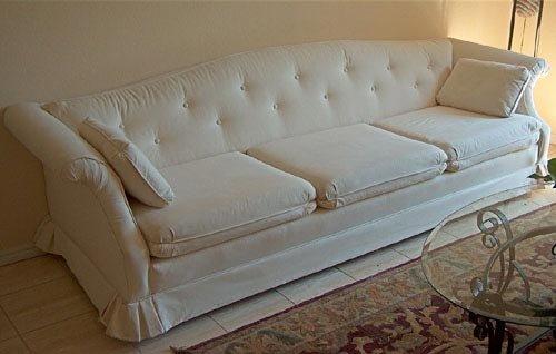 处理方法:   1,我们首先打开白色沙发图像