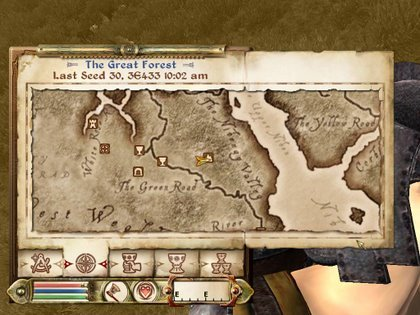 《上古卷轴4》独角兽入手地图