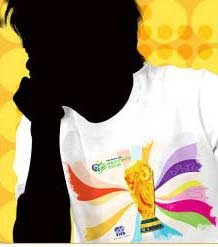 2006德国世界杯LOGO图案T恤设计欣赏