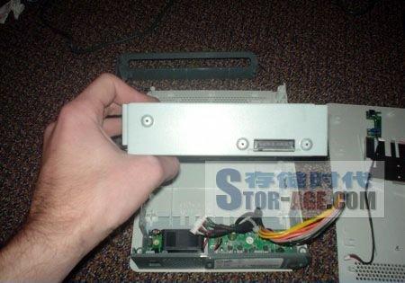 xbox 360 hd dvd播放器内部赏析