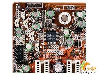 集成realtek alc861音效芯片