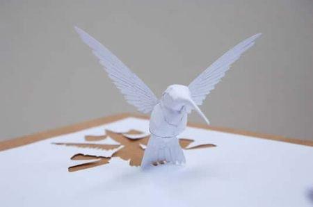 纸片上的光影 创意纸雕欣赏