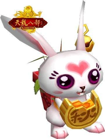 美女兔参上!《天龙》中秋兔耳狂欢cos
