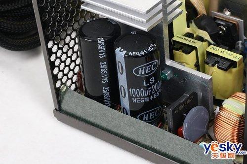 电路设计,因此对电源的高压滤波电容的要求较高,而长城这款btx-500 p4