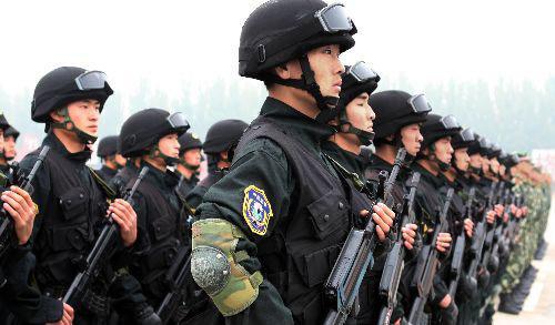 中国武警雪豹部队军服