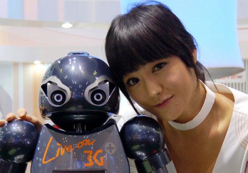 是看美女 色色机器人怀抱长腿丝袜MM