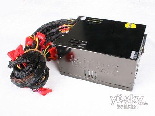 长城巨龙双动力800SP电源侧面-品质之选 长城BTX 800SP服务器电源