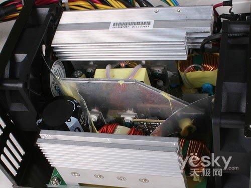 长城巨龙双动力800SP电源散热片-品质之选 长城BTX 800SP服务器电