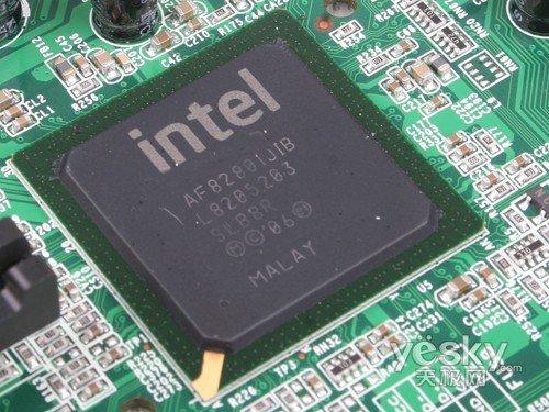 南桥芯片部分-E5200处理器最佳搭档 杰微JWP43主板评测图片