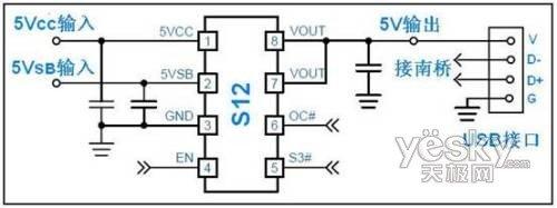 从微星主板的usb保护电路设计看微星的品质