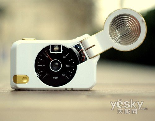 拍摄体验 最新LOMO相机黄金眼