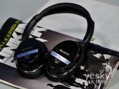 全球首款数字降噪耳机索尼MDR-NC500图赏