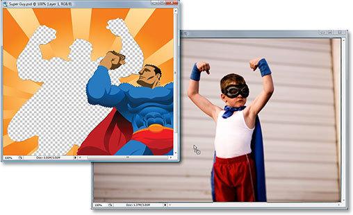 超人简笔画步骤图