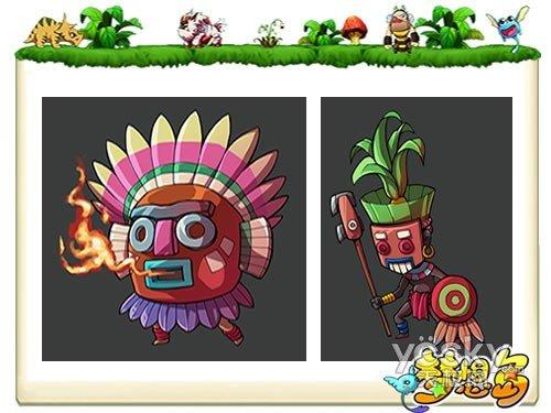 饕餮大赏《梦想岛》最新游戏原画闪烁登场