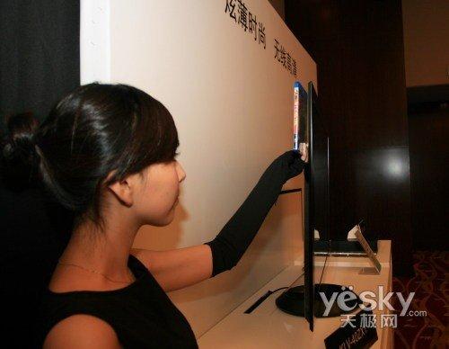 海信,康佳和厦华等主流平板电视厂商都先后展示了led背光液晶电视样机