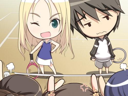 网球双飞物语新的情敌