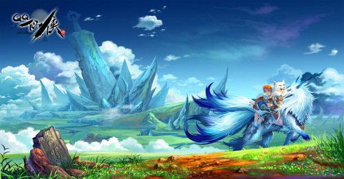 绝对震撼:大师手绘《qq仙侠传》精美插画