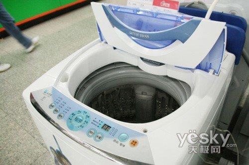 顶开式滚筒式洗衣机与滚筒式洗衣机洗涤方式一样