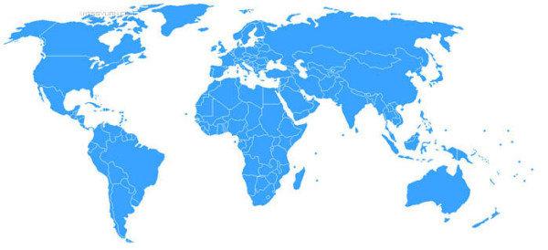 photoshop合成实例:盛有世界地图的咖啡