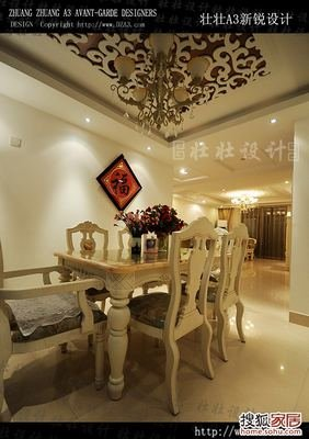 13万超值装修160平超奢华欧式风格家居