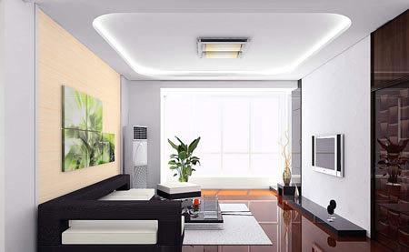 2010年簡約客廳裝修效果圖 最清新脫俗