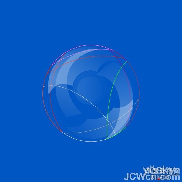 illustrator绘制透明气泡_天极设计在线整理revit绘制推拉窗新如何的图片