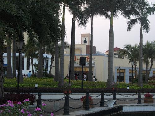 加勒比海岸古堡风光-盛夏海滨之旅 天极深圳办珠海海泉湾游记