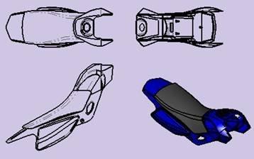中望CAD允许代表自定义用户视图rd图纸什么方向意思图片